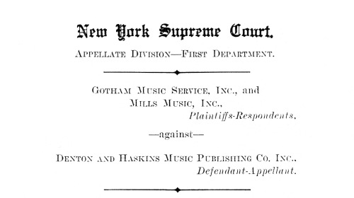 1931 Legal Brief